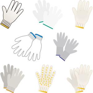 フリーイラスト, ベクター画像, AI, 手袋, 軍手, 工具