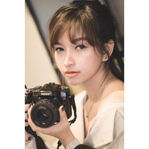 フリー写真, 人物, 女性, アジア人女性, 女性(00093), ベトナム人, カメラ, 一眼レフカメラ, ソニー(SONY)
