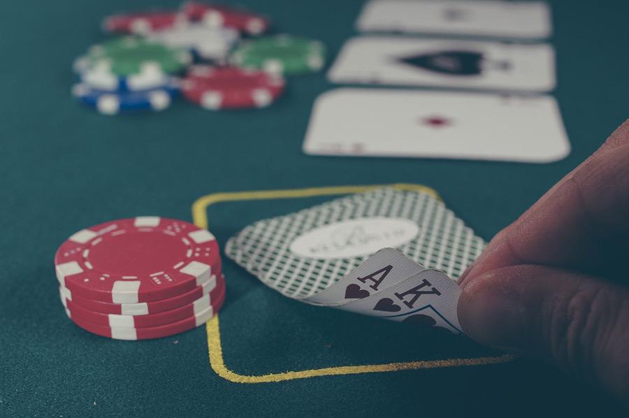 フリー写真 カジノのトランプゲーム