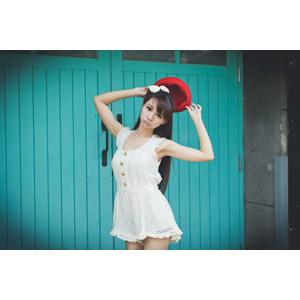 フリー写真, 人物, 女性, アジア人女性, 虹伶(00090), 中国人, 帽子