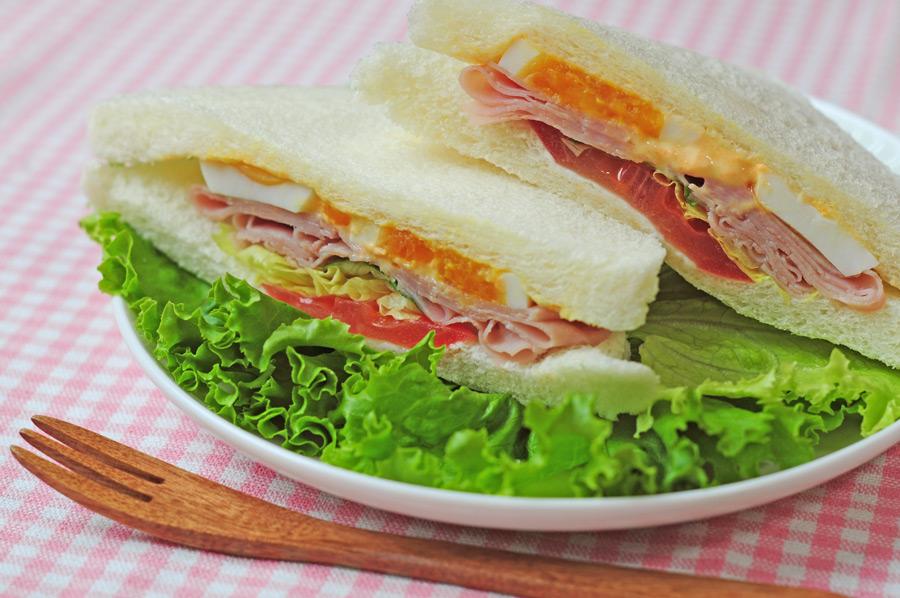 フリー写真 サンドイッチ