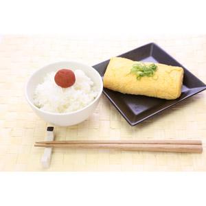 フリー写真, 食べ物(食料), 料理, 朝食, 米料理, 御飯(ご飯), お米, 箸, 梅干し, 卵焼き, 卵料理