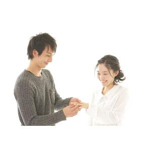 フリー写真, 人物, カップル, 恋人, 女性(00037), 男性(00038), 二人, 指輪, 婚約指輪, 婚約, 白背景