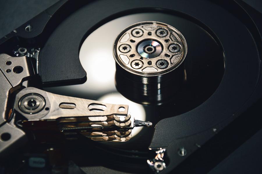 フリー写真 ハードディスク