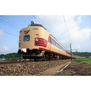 フリー写真, 乗り物, 列車(鉄道車両), 電車, 日本の鉄道車両, 国鉄485系電車