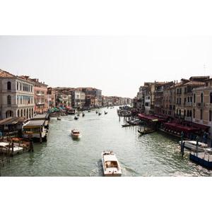 フリー写真, 風景, 建造物, 建築物, 街(町), 街並み(町並み), 運河, カナル・グランデ, ヴェネツィア(ベネチア), 船