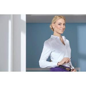 フリー写真, 人物, 女性, 外国人女性, 女性(00107), ビジネス, 職業, 仕事, ビジネスウーマン, ブラウス