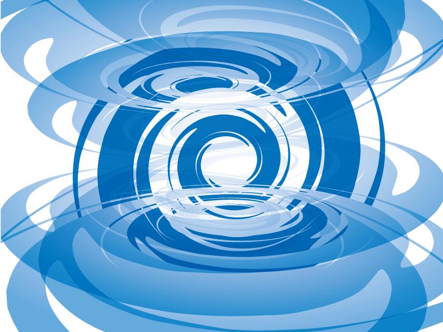 フリーイラスト 渦巻きのイメージ背景
