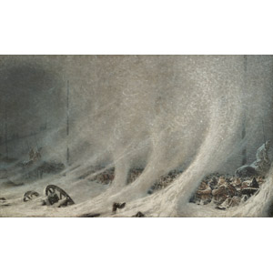 フリー絵画, ヴァシーリー・ヴェレシチャーギン, 歴史画, 戦争, 露土戦争, 雪, 吹雪, 捕虜, 寒い, 冬