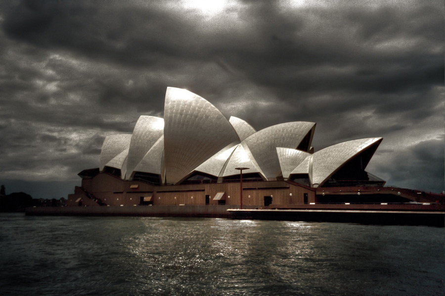 フリー写真 シドニーオペラハウスの風景