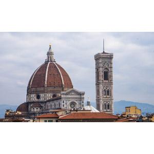 フリー写真, 風景, 建造物, 建築物, 教会(聖堂), サンタ・マリア・デル・フィオーレ大聖堂, イタリアの風景, フィレンツェ, 世界遺産