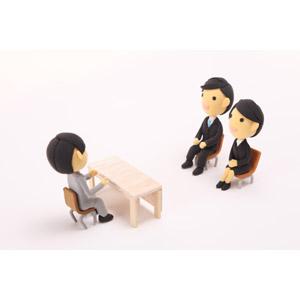 フリー写真, 人形, 男性, 女性, 就職活動(就活), 転職, 面接, リクルートスーツ, 仕事