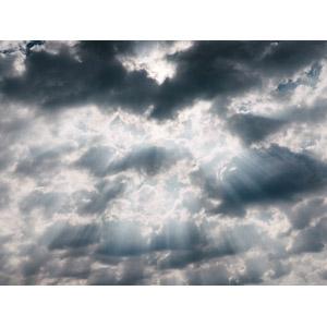 フリー写真, 風景, 自然, 空, 雲, 太陽光(日光), 薄明光線
