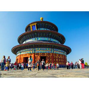 フリー写真, 風景, 建造物, 建築物, 天壇, 世界遺産, 中国の風景, 北京市