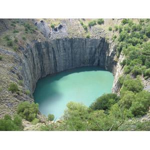 フリー写真, 風景, 穴, 鉱山, ビッグホール, 南アフリカ共和国の風景