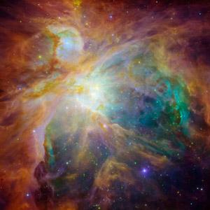 フリー写真, 天体, 宇宙, 星雲, オリオン大星雲