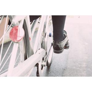 フリー写真, 人体, 足, 人と乗り物, 乗り物, 自転車