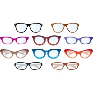 フリーイラスト, ベクター画像, AI, 眼鏡(メガネ), 医療機器(医療器具), 装飾品(アクセサリー)