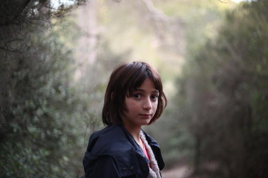 フリー写真 スペインの女の子のポートレイト