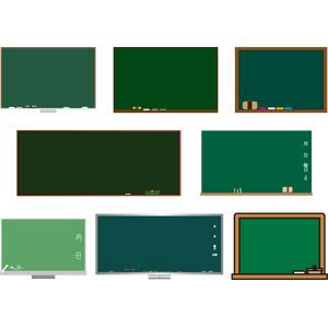 フリーイラスト, ベクター画像, AI, 学校, 黒板, 教育