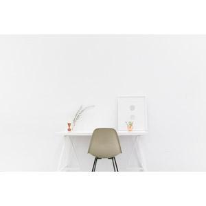 フリー写真, 風景, 部屋, 机(デスク), 椅子(イス), 家具, 白色(ホワイト)