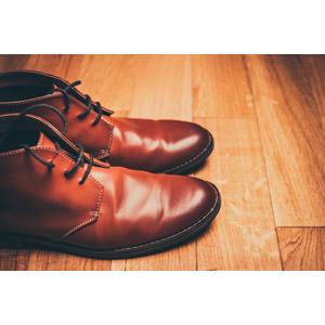 フリー写真, 靴(シューズ), 革靴, メンズファッション
