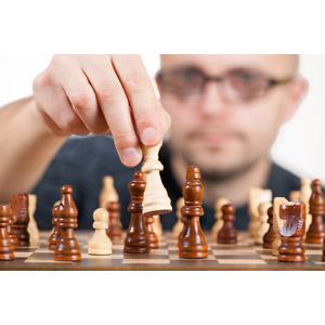フリー写真, 人物, 男性, 外国人男性, ゲーム, チェス