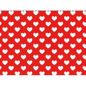 フリーイラスト, ベクター画像, AI, 背景, ハート, 赤色(レッド), 2月, バレンタインデー
