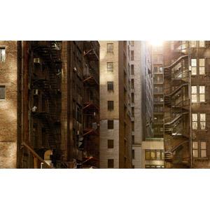 フリー写真, 風景, 建造物, 建築物, 高層ビル, 住宅, マンション(団地)