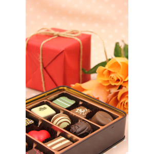 フリー写真, 食べ物(食料), 菓子, 洋菓子, チョコレート, 年中行事, 2月, バレンタインデー, プレゼント