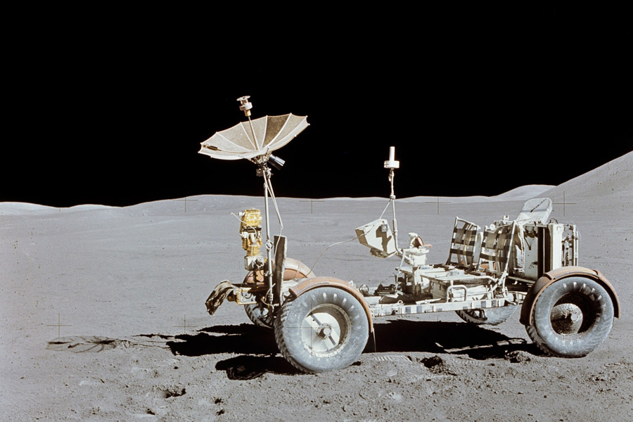 フリー写真 月面車