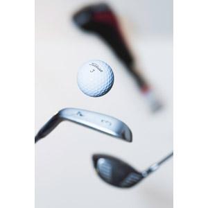 フリー写真, スポーツ, 球技, ゴルフ, ゴルフボール, ゴルフクラブ