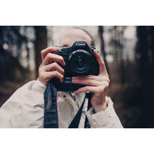 フリー写真, 人物, カメラ, 一眼レフカメラ, 写真撮影, キャノン