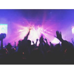 フリー写真, 人物, 人込み(人混み), 観客, 音楽, コンサート(ライブ)