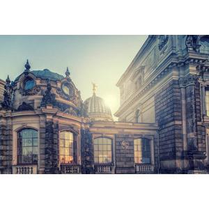 フリー写真, 風景, 建造物, 建築物, 大学, 校舎, 学校, ドイツの風景, ドレスデン