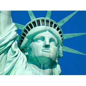 フリー写真, 彫像, モニュメント, 自由の女神像, 世界遺産, アメリカの風景, ニューヨーク