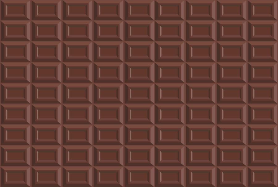 フリーイラスト 板チョコの背景