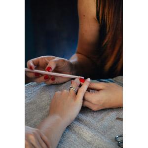 フリー写真, 人体, 手, 仕事, 職業, ネイリスト, 爪, ネイルサロン