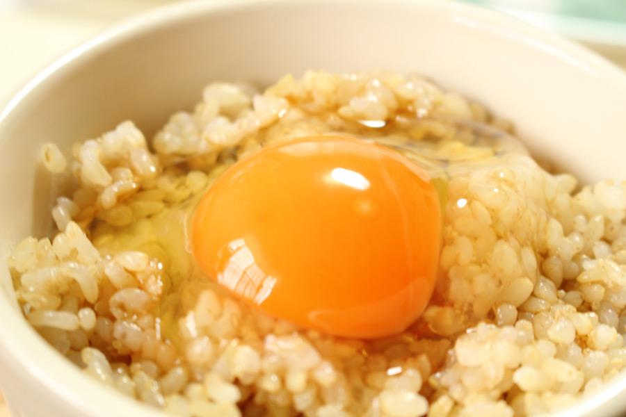 フリー写真 卵かけご飯