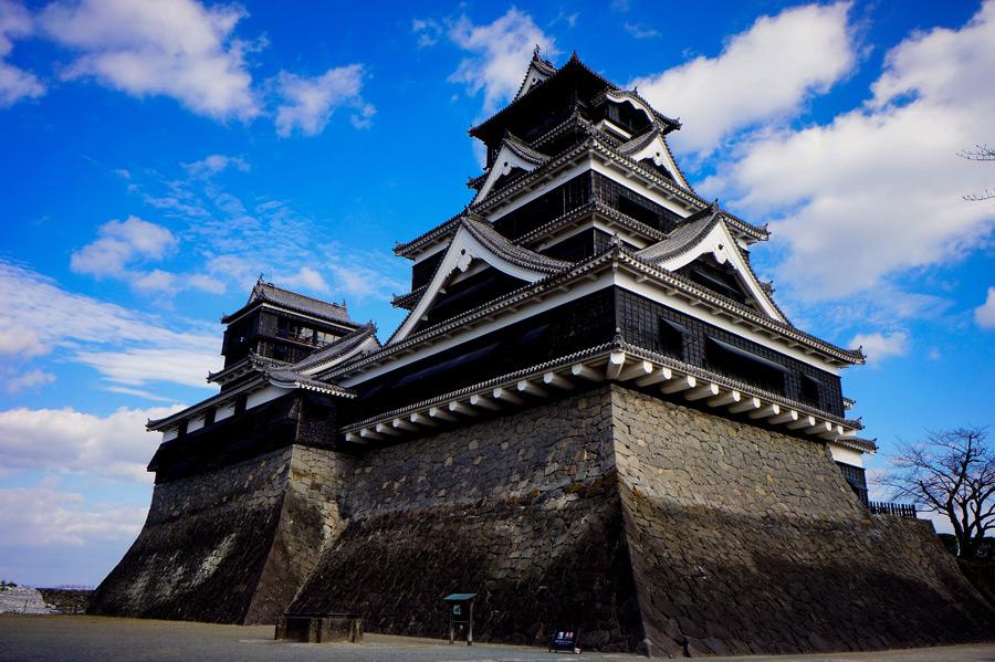 フリー写真 熊本城の風景