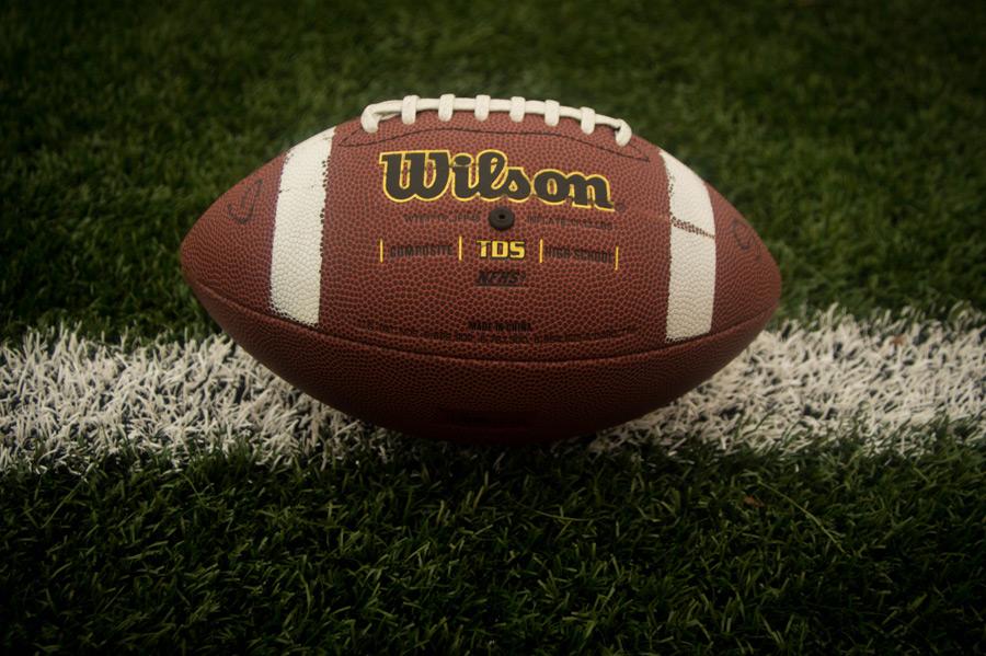フリー写真 アメリカンフットボールのボール