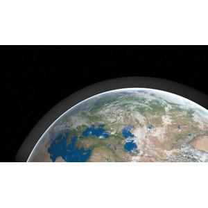 フリーイラスト, 宇宙, 天体, 惑星, 地球