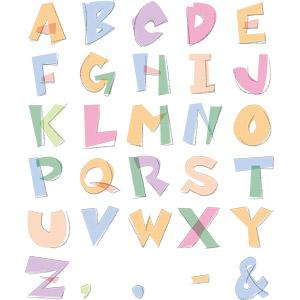 フリーイラスト, ベクター画像, EPS, 文字, アルファベット