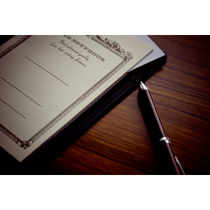 フリー写真, 文房具, 筆記用具, ノート, ボールペン