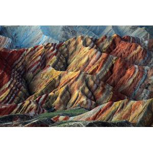 フリー写真, 風景, 自然, 岩山, 中国丹霞, 中国の風景, 世界遺産