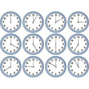 フリーイラスト, ベクター画像, EPS, 時計, 掛け時計, 時間