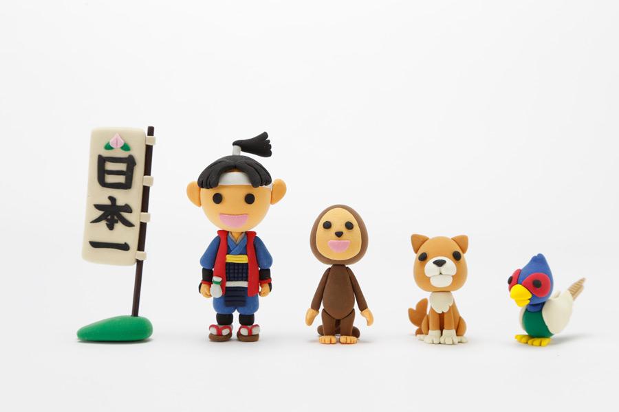 フリー写真 桃太郎の人形