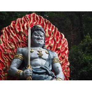 フリー写真, 彫像, 仏像, 仏教, 不動明王, 剣(ソード)