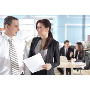 フリー写真, 人物, 集団(グループ), 職業, ビジネス, 仕事, ビジネスマン, ビジネスウーマン, サラリーマン, 女性(00109), オフィス