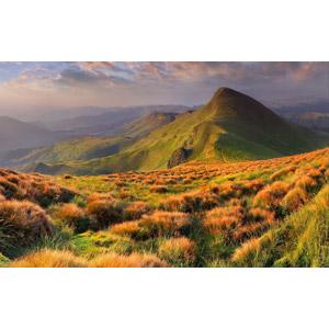 フリー写真, 風景, 自然, 山, 草むら, ウクライナの風景